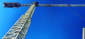 Construction crane in Perth